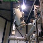 Reparatie 380kV installatie na kortsluiting